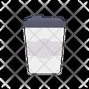 Waste Bin Garbage Trash Can Icon