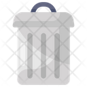 Waste Disposal Trash Can Garbage Container Icon