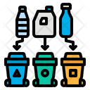 Waste Separation Plastic Icon