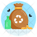 Waste Recycling Icon