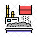 Waste Factory Equipment Icon