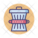 Waste Reduction Trash Can Dustbin Icon