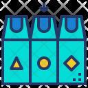 Waste Separation Gabage Icon