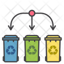Waste Sorting Sorting Waste Icon