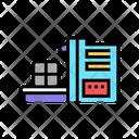 Sorting Waste Machine Icon