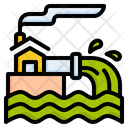 Waste Water Ocean Pollution Water Pollution Icon