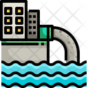 Wastewater Waste Water Water Pollution Icon