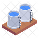 Wastewater Plant Icon