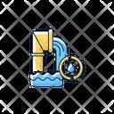 Wastewater Service Water Sewage Icon