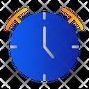 Clock Schedule School Icon