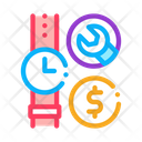 Watch Repair Cost Icon