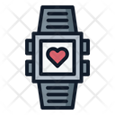 Clock Love Loving Icon