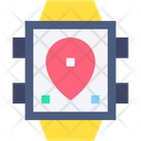 Watch Smartwatch Route Icon