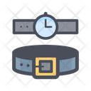 Watch And Belt Icon