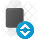 Bandwidth Watch Technology Icon