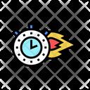 Watch Burning Icon