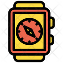 Watch Compass Icon