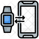 Watch Connection Smartwatch Device Icon