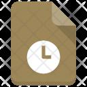 Watch File Sheet Icon