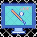 Watch Live Game Live Baseball Match Live Match Icon