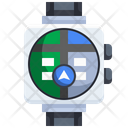 Watch Location Gps Location Icon