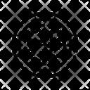 Watch Mechanism Gears Icon