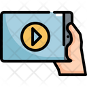 Movie Playing Player Icon
