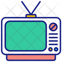 Watch Television Broadcasting Television Icon