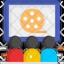 Watching Films Cinema Multiplex Icon