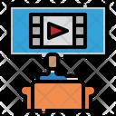 Movie Watch Cinema Icon