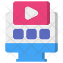 Watching Video Icon