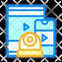 Watching Video Online Stream Watching Icon