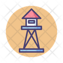 Watchtower Tower Security Icon