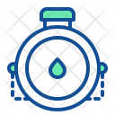 Water Flask Bottle Icon
