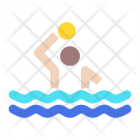 Water Polo Aquatics Icon