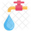 Water Faucet Save Icon