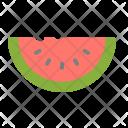 Water Melon Juicy Icon