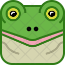 Water River Frog Icon