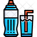 Water Glass Water Bottle Icon