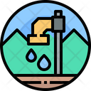 Water Water Tap Save Water Icon