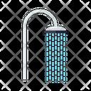 Water Hygiene Shower Icon