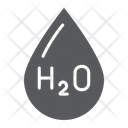 Water Formula Chemical Icon