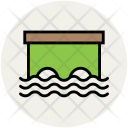 Water Bungalow Overwater Icon