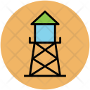 Water Tower Plant Icon