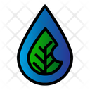 Water Eco Leaf Icon