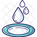 Water Water Drops Rain Drops Icon