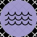 Water Ocean Waves Icon
