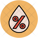 Water Drop Infographic Icon
