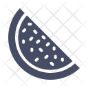 Water Juicy Watermelon Icon