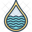 Water Aqua Beverage Icon